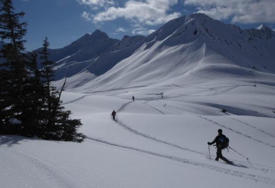 Sneeuwschoentochten
