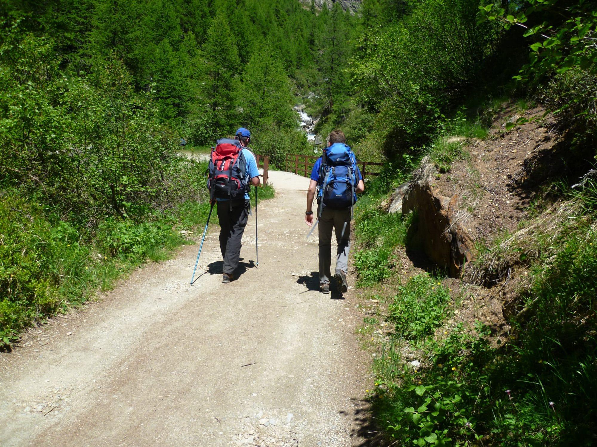 wandelreis met Roy van Langen